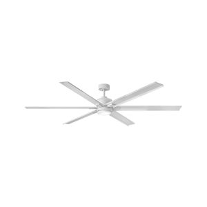 Indy Maxx Matte White 82-Inch LED Indoor Outdoor Fan