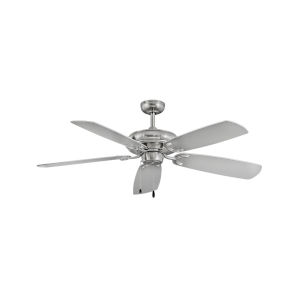 Grove Brushed Nickel Three-Light LED 56-Inch Ceiling Fan