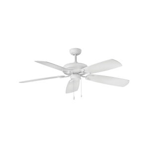 Grove Chalk White Three-Light LED 56-Inch Ceiling Fan
