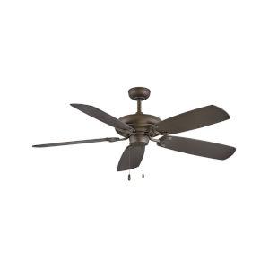 Grove Metallic Matte Bronze Three-Light LED 56-Inch Ceiling Fan