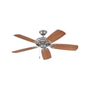 Marquis Satin Steel 52-Inch Ceiling Fan