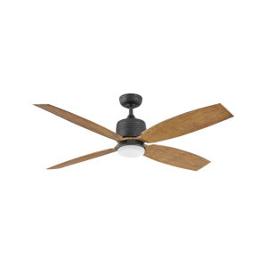 Module Matte Black LED 58-Inch Ceiling Fan