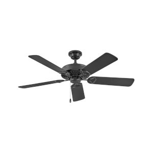 Windward Matte Black 52-Inch Ceiling Fan