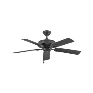 Oasis Matte Black 52-Inch Ceiling Fan