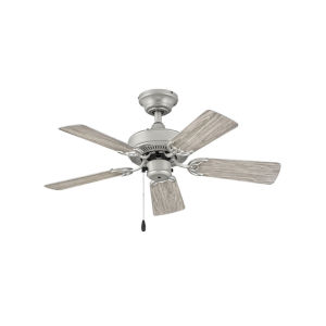 Cabana Brushed Nickel 36-Inch Ceiling Fan