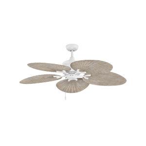 Tropic Air Matte White 52-Inch Ceiling Fan