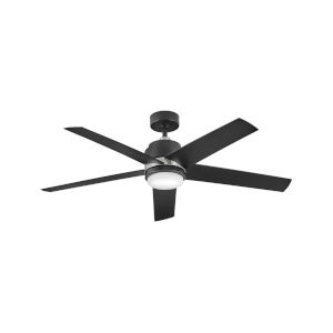 Tier Matte Black LED 54-Inch Ceiling Fan