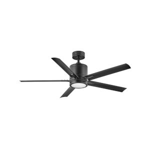 Vail Matte Black LED 52-Inch Ceiling Fan