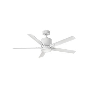 Vail Matte White LED 52-Inch Ceiling Fan
