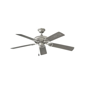 Vera Cruz Brushed Nickel 52-Inch Ceiling Fan
