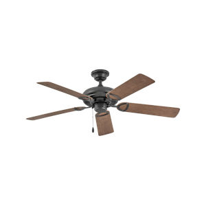 Vera Cruz Matte Black 52-Inch Ceiling Fan