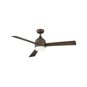 Verge Metallic Matte Bronze LED 52-Inch Ceiling Fan