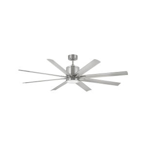 Vantage Brushed Nickel LED 66-Inch Ceiling Fan