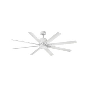 Vantage Matte White LED 66-Inch Ceiling Fan