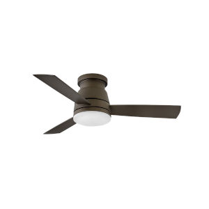Trey Metallic Matte Bronze 44-Inch Ceiling Fan