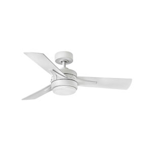 Ventus Matte White 44-Inch Ceiling Fan