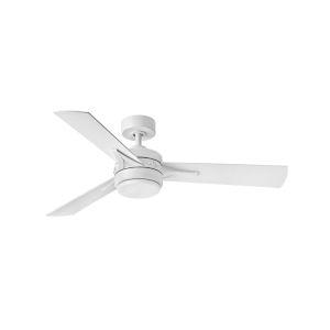 Ventus Matte White LED 52-Inch Ceiling Fan