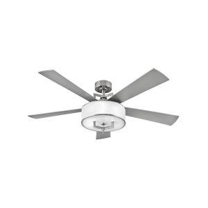 Hampton Brushed Nickel 99-Inch Smart LED Ceiling Fan