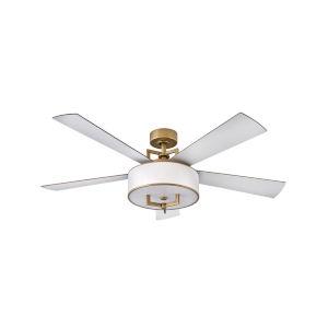 Hampton Heritage Brass 56-Inch Smart LED Ceiling Fan