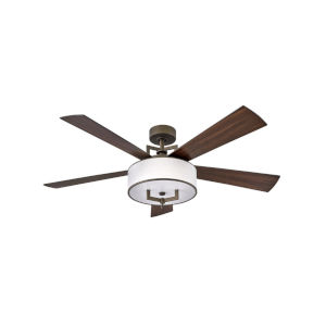 Hampton Metallic Matte Bronze 56-Inch Smart LED Ceiling Fan