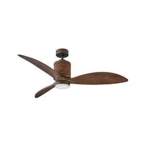 Marin Metallic Matte Bronze 60-Inch Smart LED Indoor Outdoor Fan