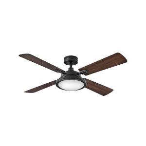 Collier Matte Black 54-Inch Smart LED Ceiling Fan