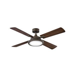 Collier Metallic Matte Bronze 54-Inch Smart LED Ceiling Fan