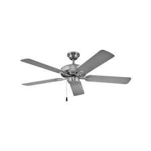 Metro Wet Brushed Nickel 52-Inch Smart Indoor Outdoor Fan