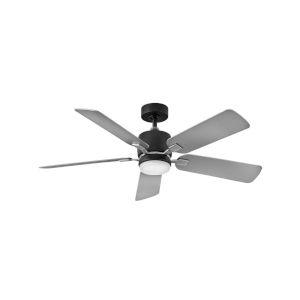 Afton Matte Black 52-Inch LED Ceiling Fan
