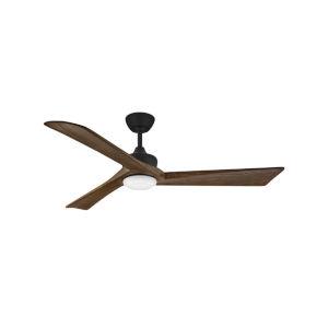 Sculpt Matte Black 60-Inch Smart LED Indoor Outdoor Fan