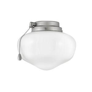 Brushed Nickel School house LED Light Kit