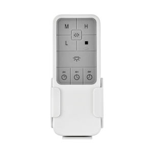 White Three-Speed DC Remote Control