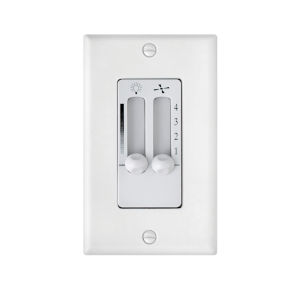 White Four-Speed Dual Slide Wall Control