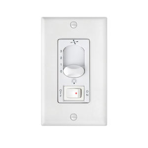 White Three-Speed On Off Switch Wall Control