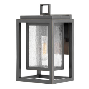 Republic Oil Rubbed Bronze One-Light Outdoor Small Wall Mount