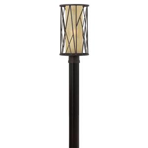Elm Regency Bronze One-Light Outdoor Post Light