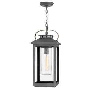 Atwater Ash Bronze One-Light Outdoor Hanging Light