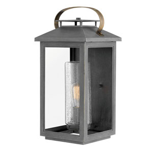 Atwater Ash Bronze One-Light Outdoor Large Wall Mount