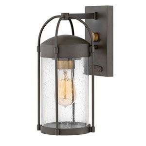 Drexler Oil Rubbed Bronze One-Light Outdoor Small Wall Mount