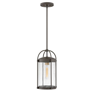Drexler Oil Rubbed Bronze One-Light Outdoor Hanging Light