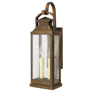Revere Sienna Two-Light Medium Outdoor Wall Light