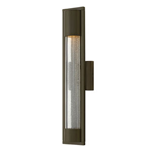 Mist Titanium One-Light Outdoor 15.5-Inch Small Wall Mount