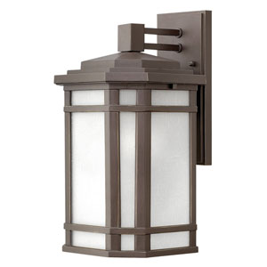 Cherry Creek Oil Rubbed Bronze 9-Inch LED Outdoor Medium Wall Mount