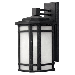 Cherry Creek Vintage Black Medium One-Light LED Outdoor Wall Light