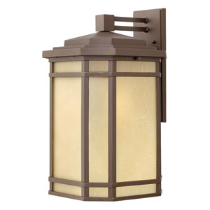 Cherry Creek Oil Rubbed Bronze 20.5-Inch One-Light Large Outdoor Wall Lantern