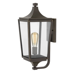 Jaymes Oil Rubbed Bronze One-Light Outdoor Medium Wall Mount