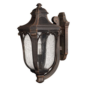 Trafalgar Mocha Medium Outdoor Wall Mount