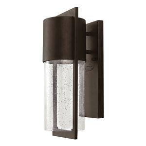 Shelter Buckeye Bronze 6-Inch One-Light Outdoor Wall Light