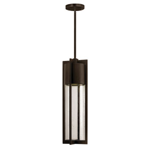 Shelter Buckeye Bronze One-Light Outdoor Pendant