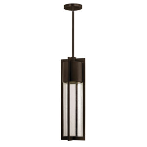 Shelter Buckeye Bronze One-Light LED Outdoor Pendant